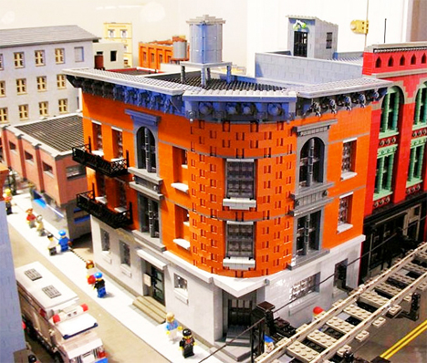 LEGO Brooklyn Model 1