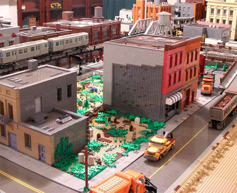 LEGO Brooklyn Model 2