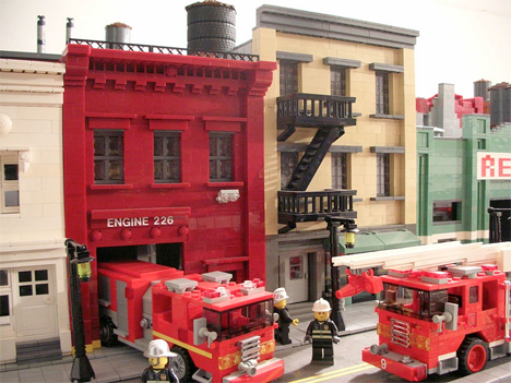 LEGO Brooklyn Model 3