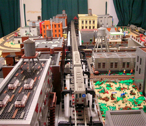 LEGO Brooklyn Model 4