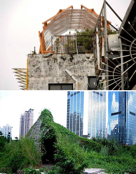 Parasitic Architecture Illegal Taiwan