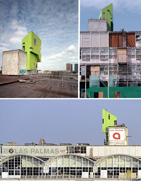 Parasitic Architecture Las Palmas