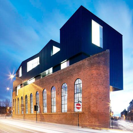 Parasitic Architecture Steel Box 1