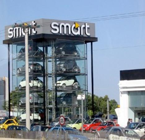 Parking Architecture Smart Car Vending Machine