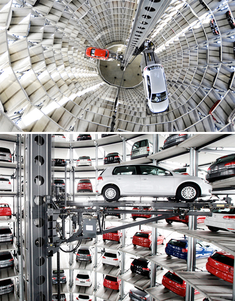 Car parks or works of art 14 exemplary parking facilities for Garage volkswagen condom