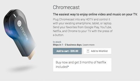 Smartphone Gadgets Google Chromekey