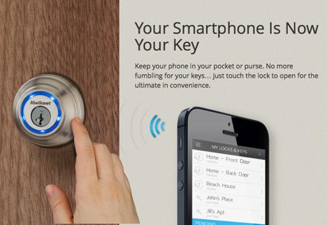 Smartphone Gadgets Kwikset Kevo