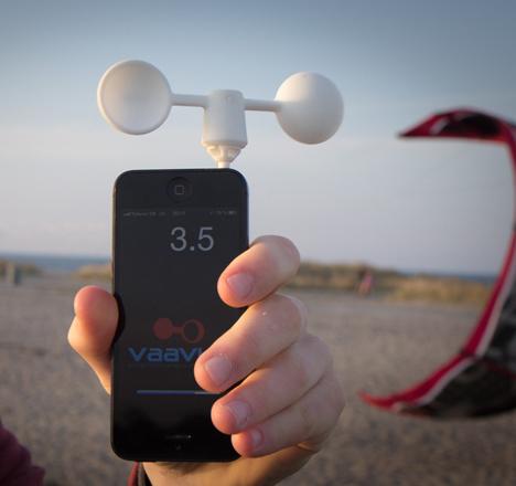 Smartphone Gadgets Wind Meter