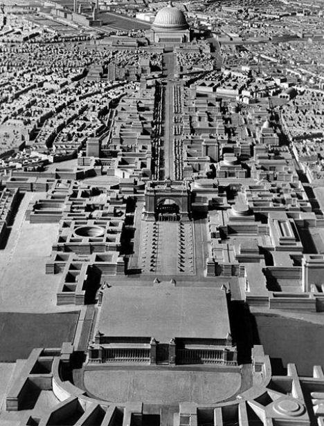 Unbuilt Urban Wonders Hitler's Berlin