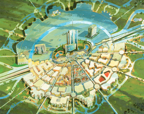 Unbuilt Urban Wonders Project X Disney 1