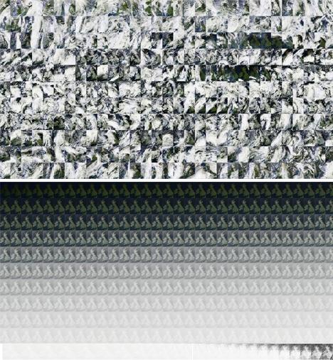 atlas stacked pixel maps