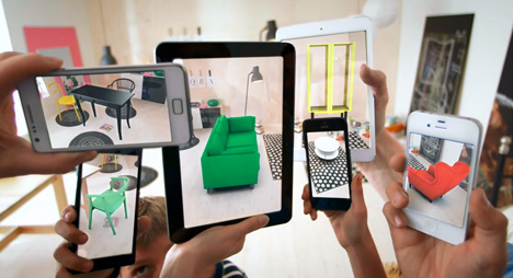 Virtual Interior Design: Augmented Reality IKEA 2014 Catalog ...