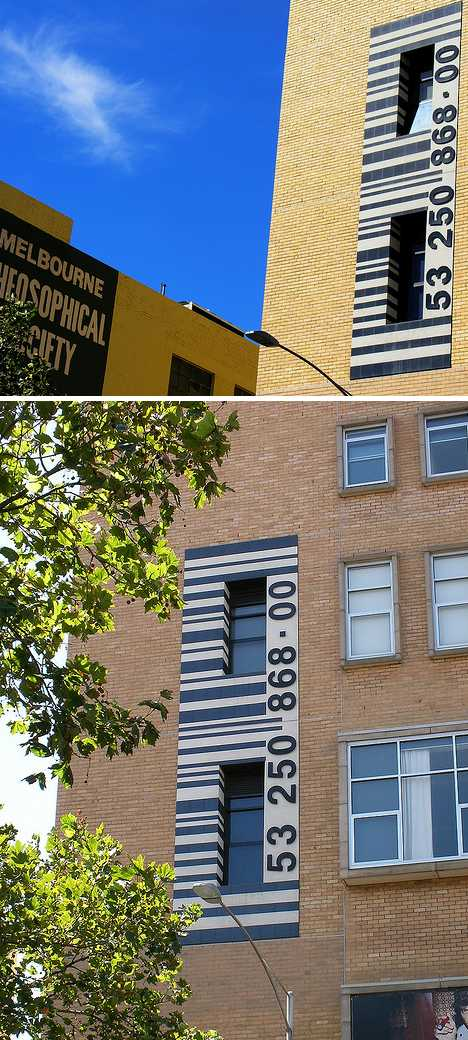 Melbourne Theosophical Society bookshop barcode