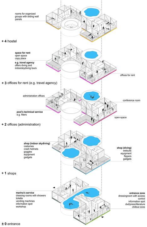converted tower floor plan