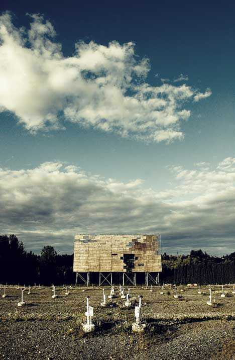 abandoned drive-in theater Washington