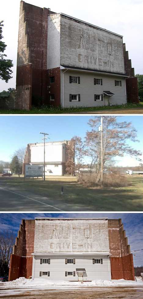 abandoned Auto drive-in theater Titusville PA