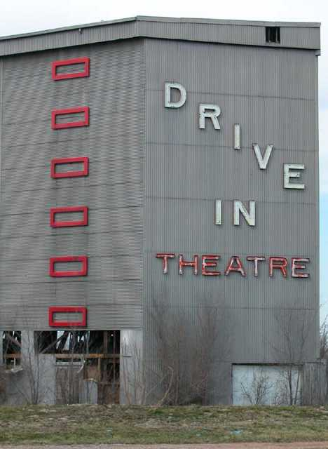 abandoned French Village drive-in East St. Louis