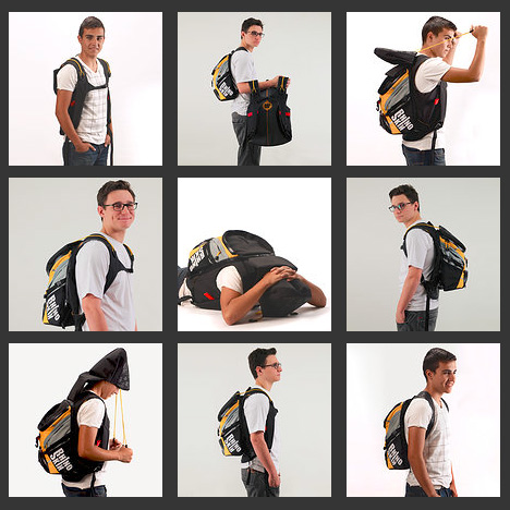 emergency disaster survival backpack