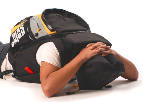 emergency war zone backpack