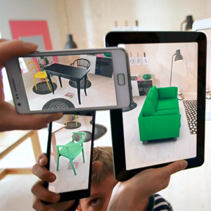 virtual interior design augmented reality ikea 2014 catalog urbanist. Black Bedroom Furniture Sets. Home Design Ideas