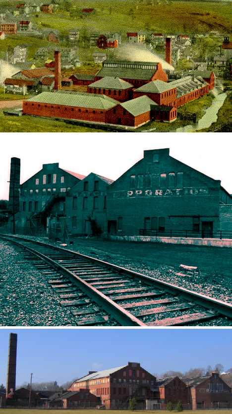 abandoned Pennsylvania Match Company Bellefonte PA