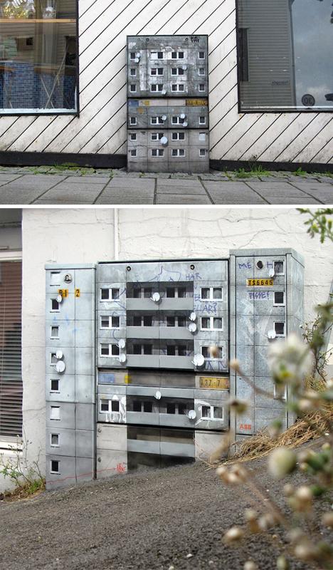 mini architecture electrical boxes