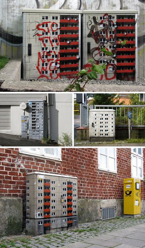 mini tiny building installatoins
