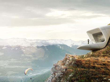 mountain museum overlook ledge