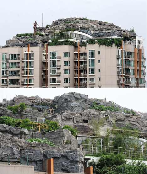 mountain rock condo sprawl