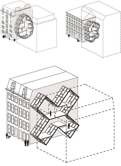 Live Between Buildings Narrow Micro Homes Fill City Gaps Urbanist