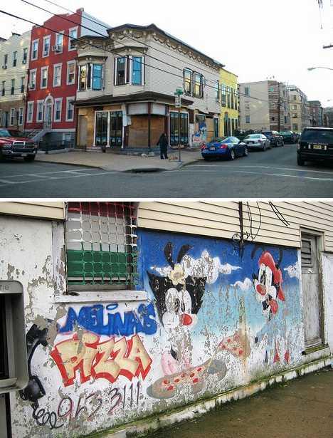 abandoned Melina's Pizzeria Hoboken