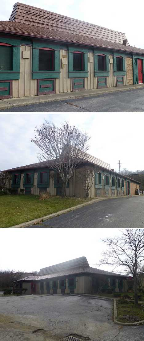 abandoned Pizza Hut Euclid Ohio