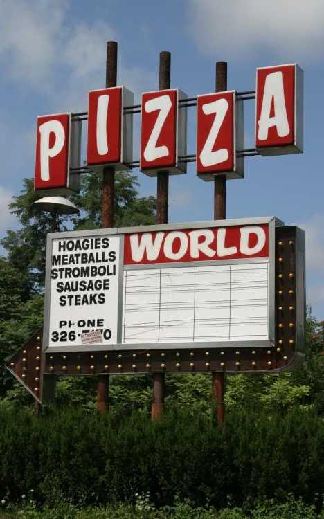 abandoned Pizza World Pennsylvania