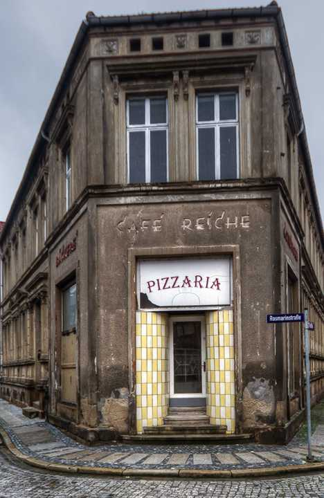 abandoned Osterwieck Germany Pizzaria