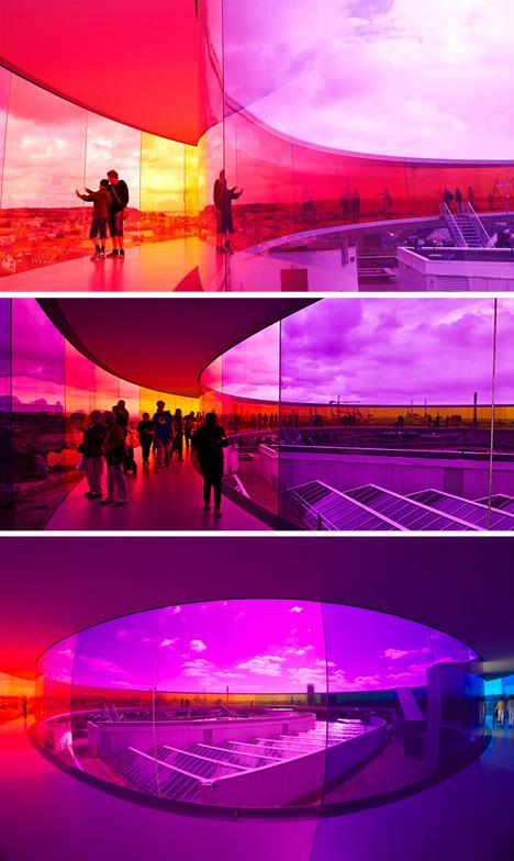 rainbow spectrum walking experience