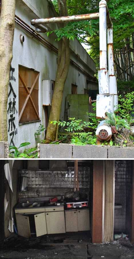 Japan Queen Chateau soapland abandoned brothel
