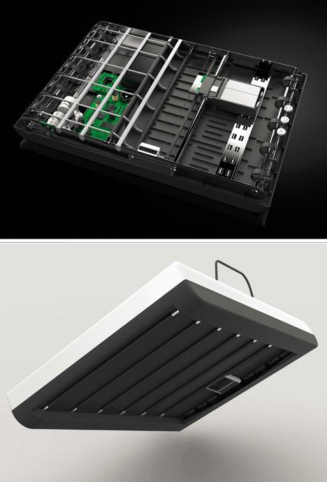 stack printer design details