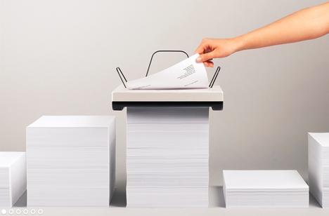 stack simple paper printer