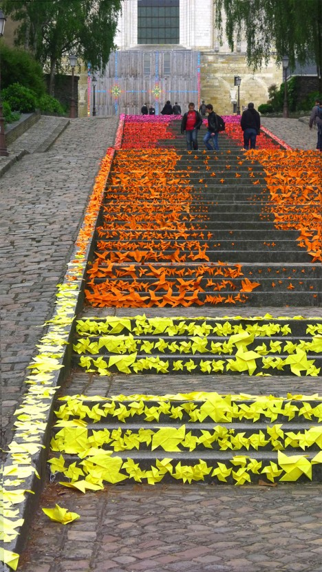 step art installation project