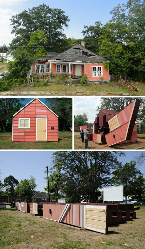 transforming converted abandoned home
