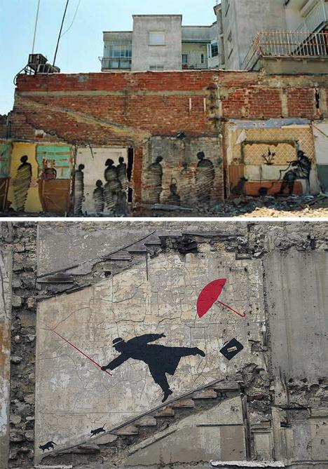 void building street art