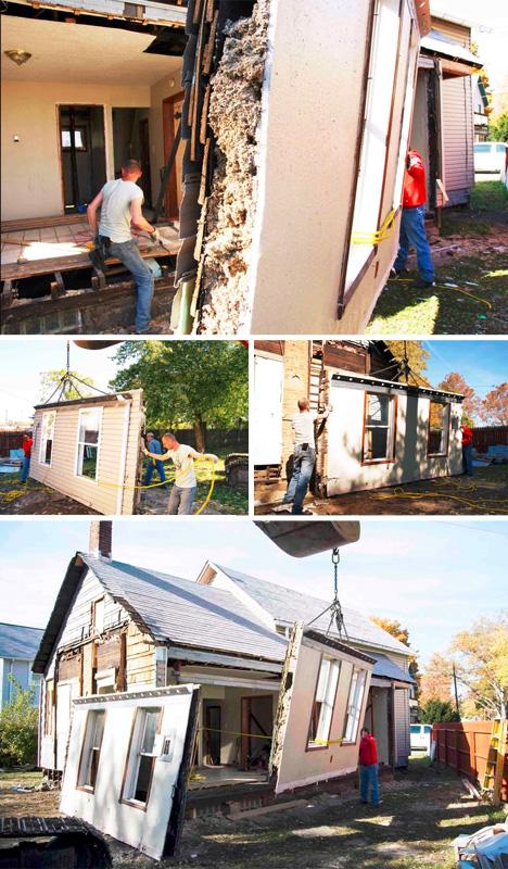 wall reversal construction steps