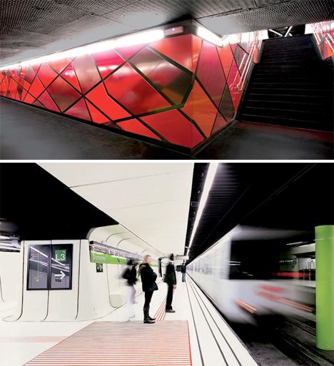 Amazing Subway Stations Drassanes 2