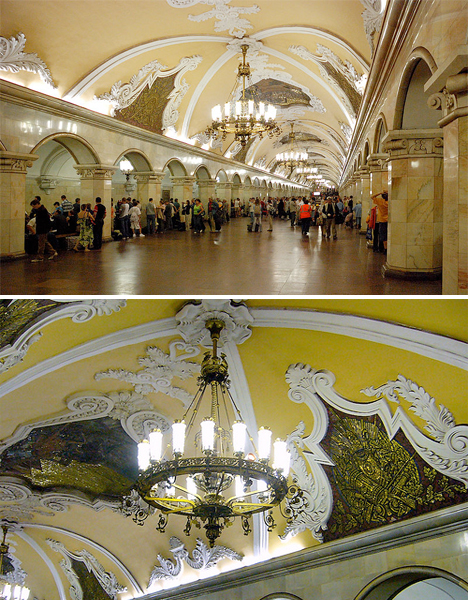 Amazing Subway Stations Komsomolskaya