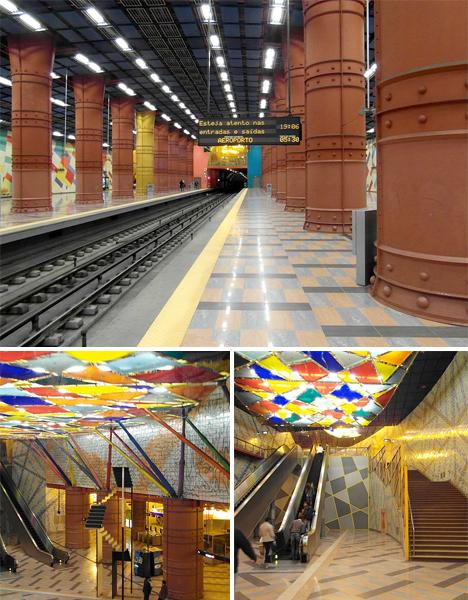 Amazing Subway Stations Lisbon
