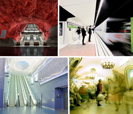 Amazing Subway Stations Main