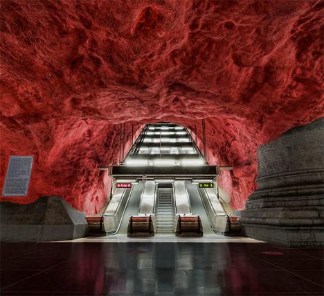 Amazing Subway Stations Radhuset