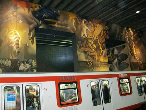 Amazing Subway Stations Universidad Chile