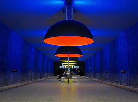 Amazing Subway Stations Westfriedhof