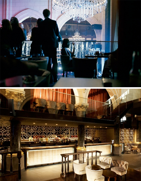 Converted CHurch Spirito Martini Bar